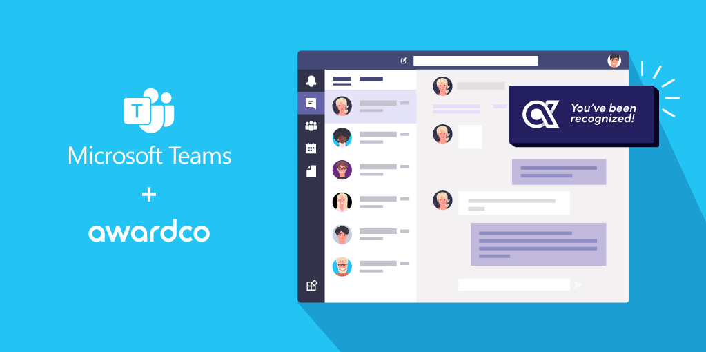 Awardco Integrates with Microsoft Teams